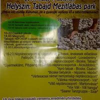 Vakarcsfesztivál Tabajdon, a Mezítlábas parkban