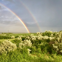 Teljes és mesésen szép szivárvány volt ma Bicskén - Köszönet az Olvasónak!