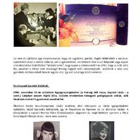 Lia néni átvette az Aranydiplomát Pécsett, ahol 1968-ban végzett