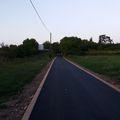 Kerékpárút - Szilárd burkolatú út lett a régi zsámbéki út első és második dűlő közötti szakasza