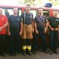 Bicskei, dégi, ercsi és martonvásári önkéntesek Szabolcsban