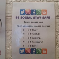 BE SOCIAL STAY SAFE