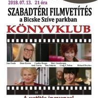 Szabadtéri mozi a Bicske Szíve Parkban