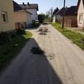 Bicske, Thököly utca - Minőségi aszfaltozásra és csapadékvíz elvezetésre vár mindkét szakasza