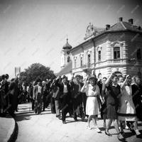 1946. 08. 11. - Nagy Ferenc kormányfő az FKgP bicskei nagygyűlésén