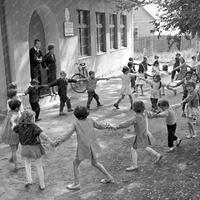 A cigányiskola Bicskén - 1968