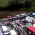 Felderítő repülés a bicskei piactér fölött - Drón-felvételek a környékről