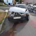 Négy rendőrségi fotó a baleseti helyszínről és a tények
