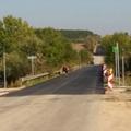 A felújított szervizút is a kerékpárút része