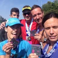 A félmaraton legfiatalabb bicskei teljesítője a 16 éves Városi Donát