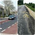 Holland vs. bicskei bringaút minőség közúton - Ír és szerkeszt az olvasó