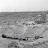 A bányavasút Felcsúton, több mint 56 éves MTI fotókon