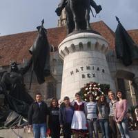 Kolozsvár, Mátyás szobor és a