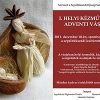 Sepsibükszádi kézművesek és termelők adventi vására