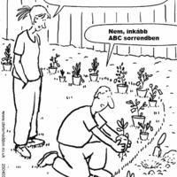 Kertészetben