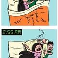 Lájk, ha Ti is így szoktatok az ágyban aludni :)