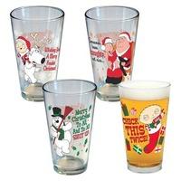Family Guy karácsonyi poharak