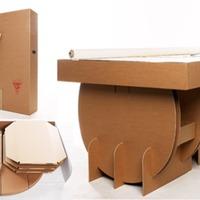 Hordozható kartonasztal