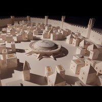 Elképesztő Game of Thrones makett papírból