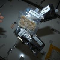Reggeli az űrállomáson