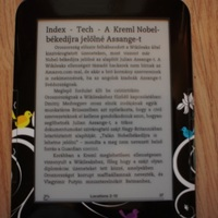 Küldj cikkeket a Kindle-re!