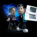 Nintendo DS Lite jár a chellóhoz