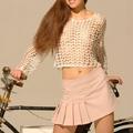 Selene, biciklivel a studióban