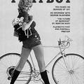 Már a Playboy 40 évvel ezelőtti címlapján is bringás csaj volt!