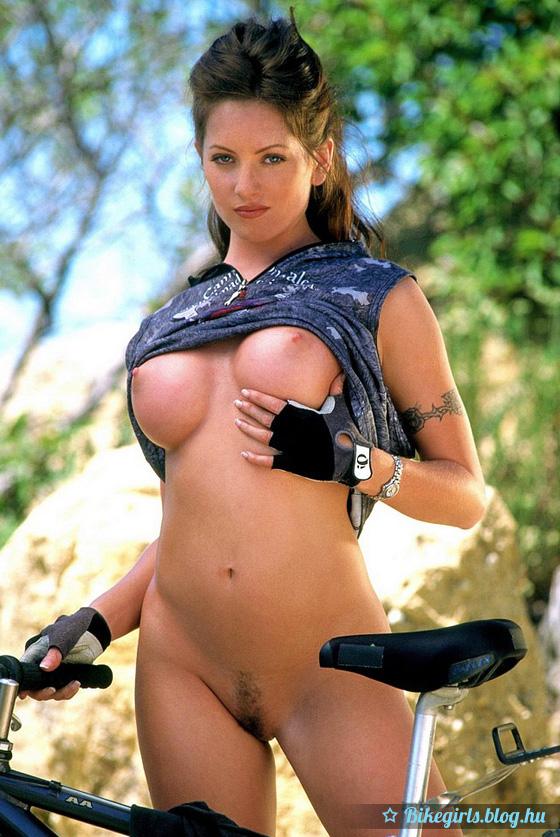 sexy mountain bike girl
