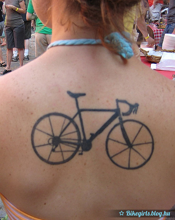 tattoo bike girl