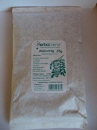 Fehér akácvirág tea