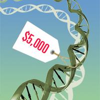 Teljes humán genom-térkép 4000 dollárért