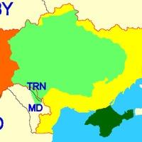 Ukrajna –térkép