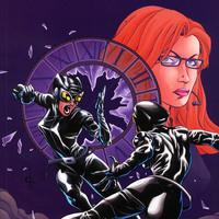 Birds of Prey - Catwoman & Oracle