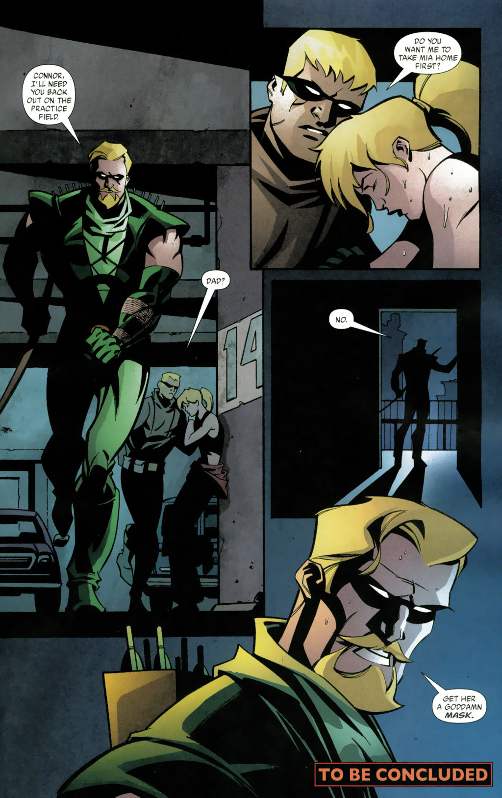 Green Arrow 38 (Pyrate-DCP) pg23 Oliver Queen Connor Hawke Mia Dearden.jpg