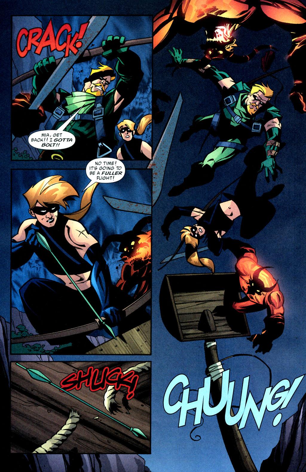 Green Arrow 39-16 Oliver Queen Mia Dearden Speedy.jpg