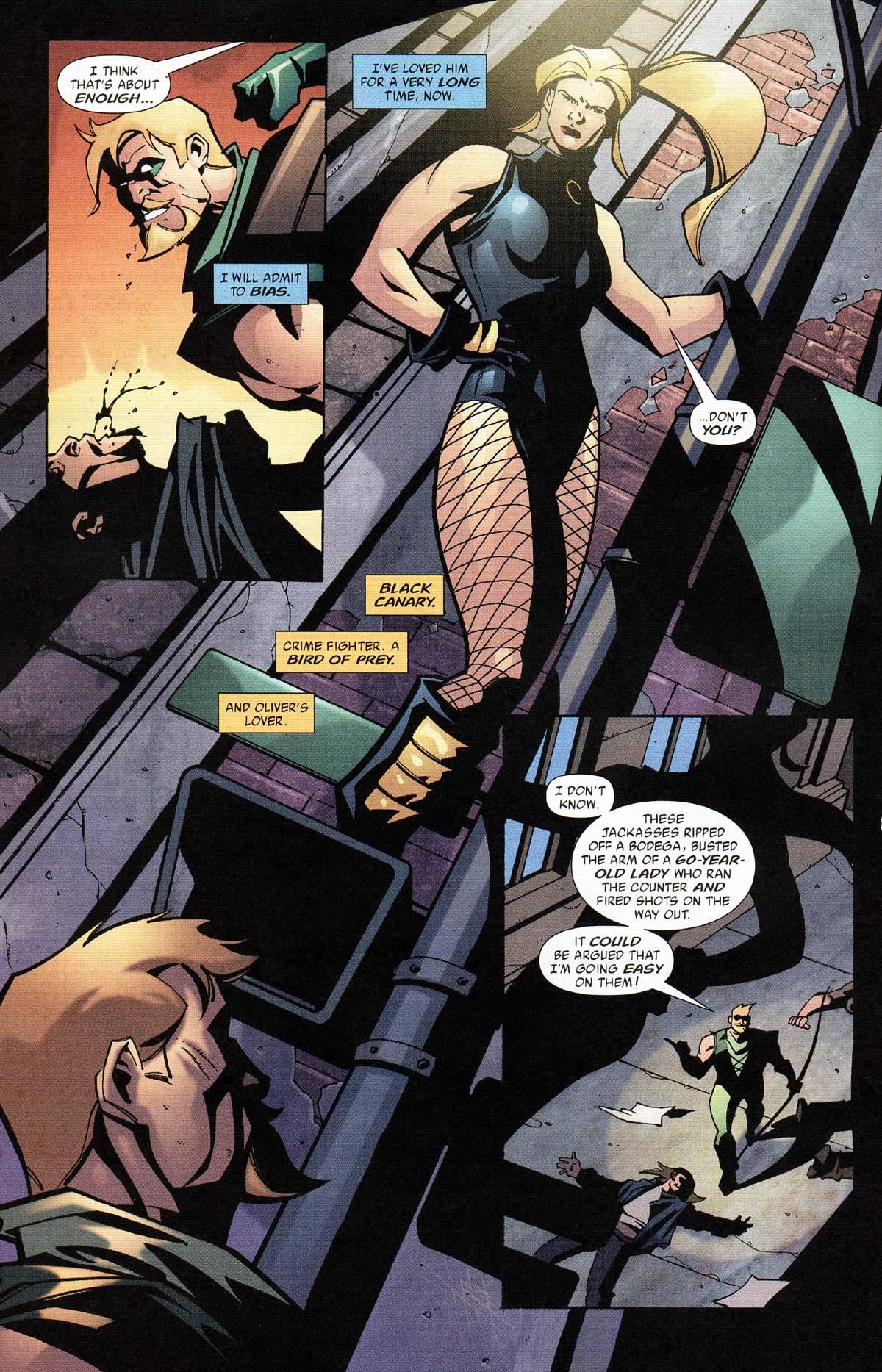 Green Arrow v4 034-05 Oliver Queen Fekete Kanári.JPG