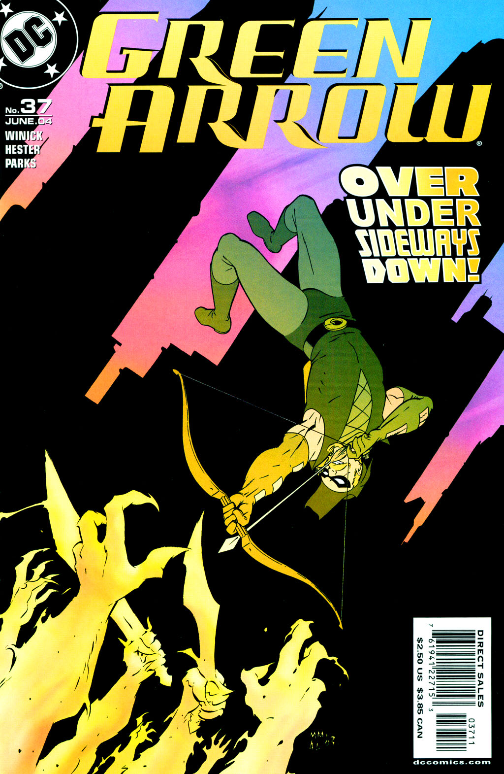 green arrow v2 37 - 00 ocd horus.jpg