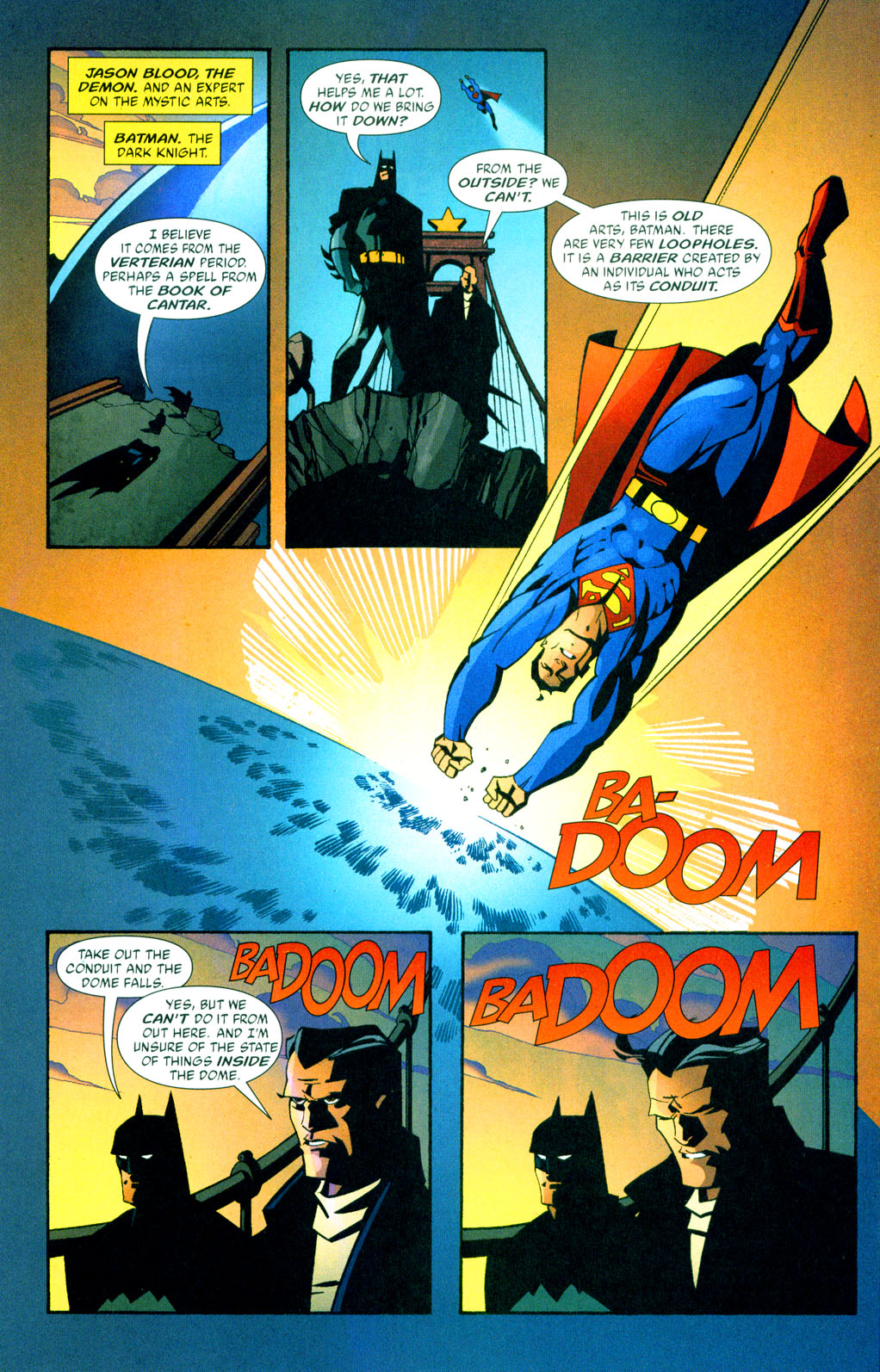 green arrow v2 37 - 05Superman Batman Jason Blood.jpg