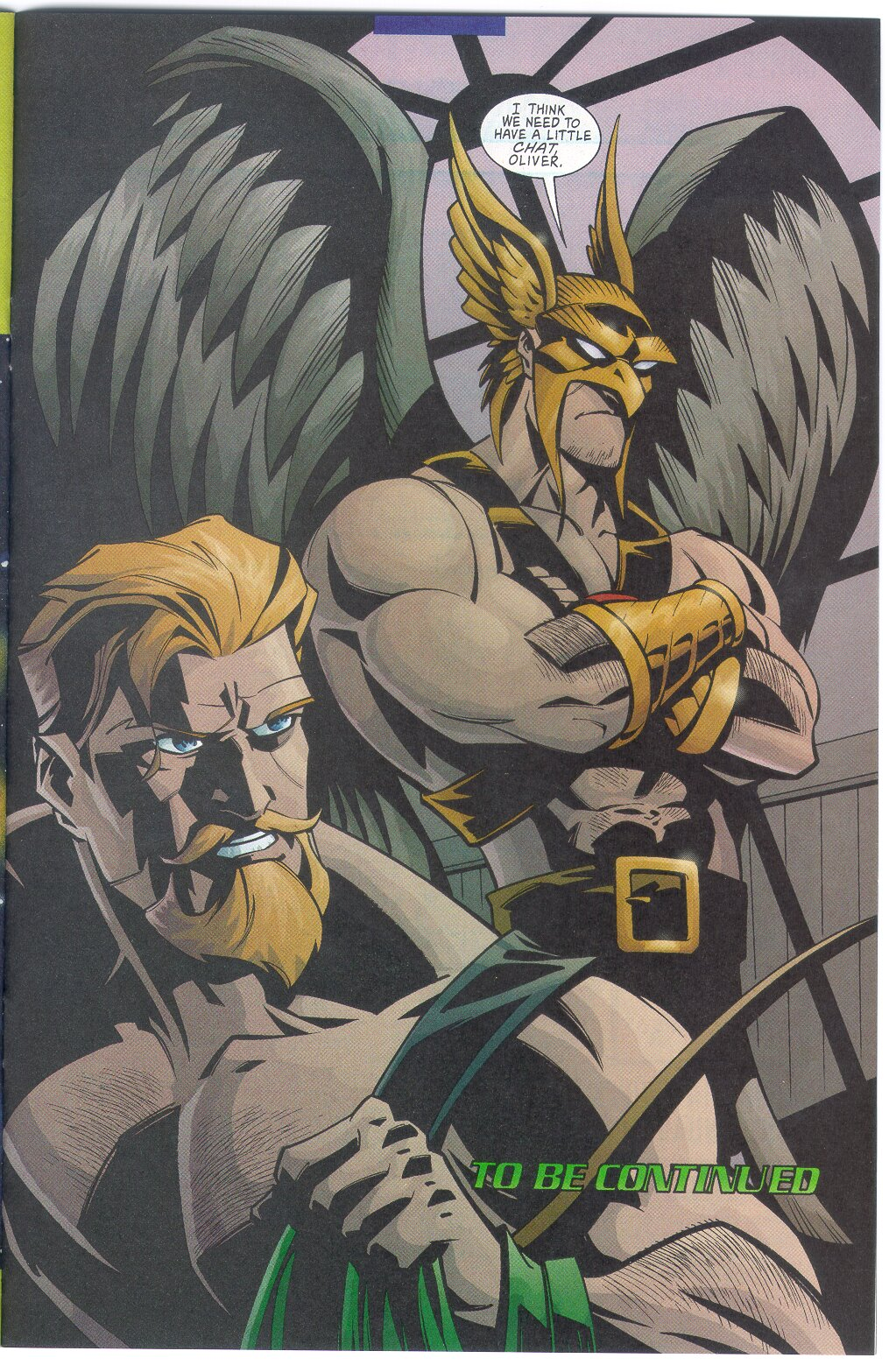 Green Arrow 12 pg22 GreenArrow Hawkman.jpg
