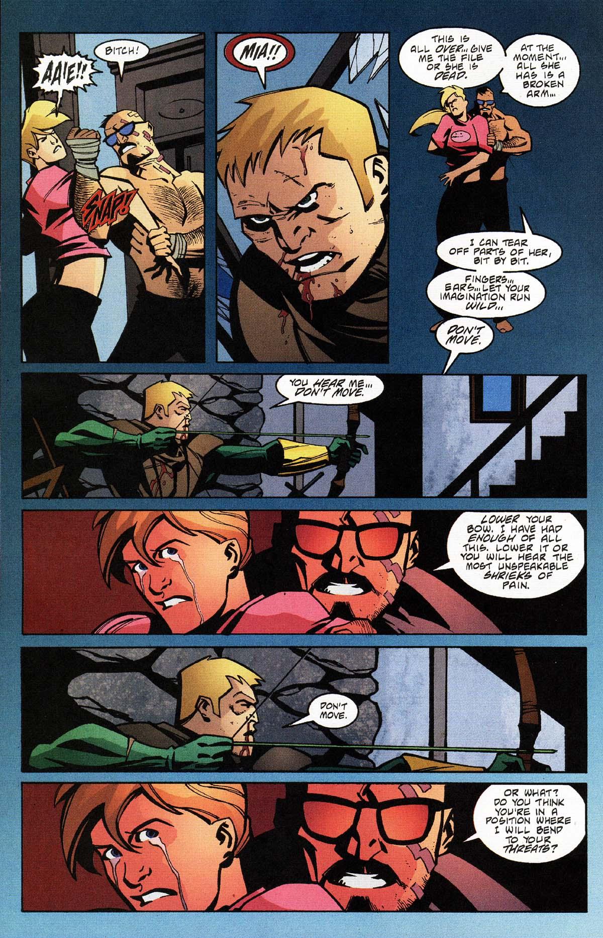 Green Arrow v4 031-13 Connor Hawke Constantine Drakon Mia Dearden.JPG