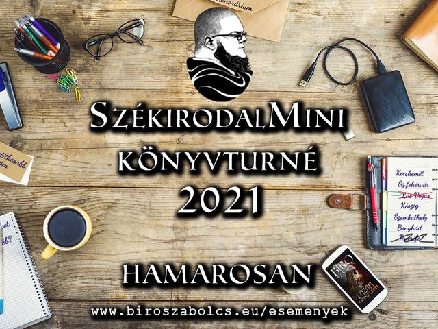 SzékirodalMini Könyvturné 2021