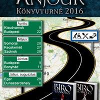Székirodalmi könyvturné 2016 – végleges dátumok!