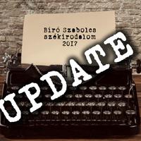 Változások a 2017-es székirodalmi kiadványok körül