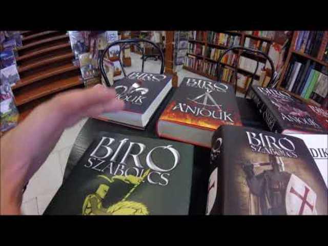 Székirodalom vlog #037: Megkóstoltuk az új könyvemet