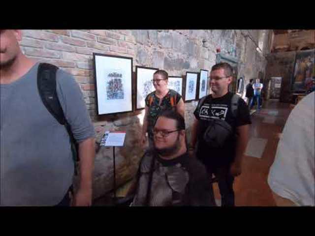 Székirodalom vlog #054: Képregényfesztivál Esztergomban