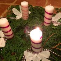 Advent 1. gyertyája