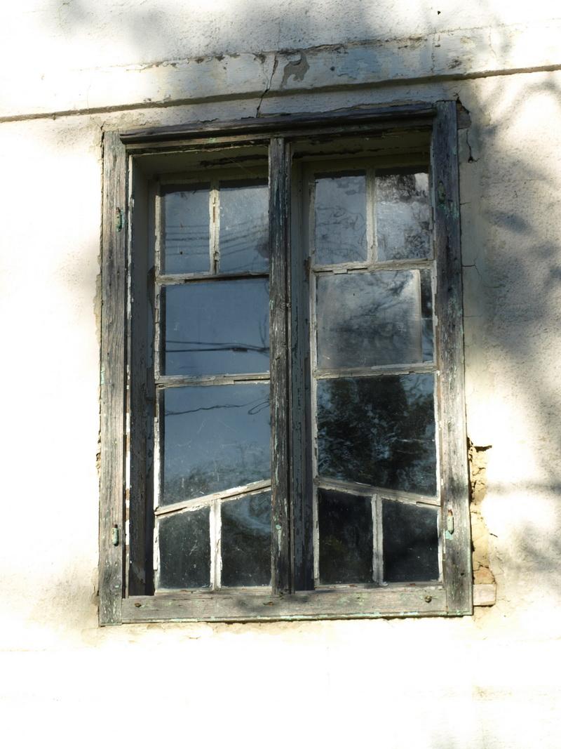 A ház szeme - utcára néző ablak