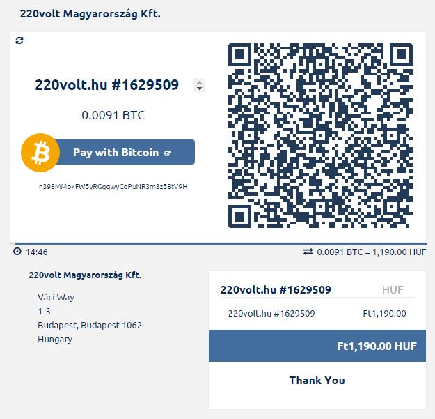 bitcoin személyes számla