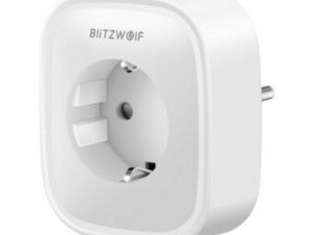 WiFi-s fogyasztásmérő konnektor (BlitzWolf SHP2)